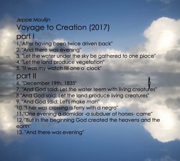 Tracklist Voyage to Creation